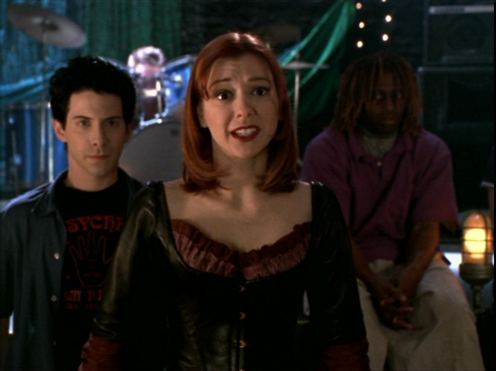 what episode of buffy did willow and oz meet