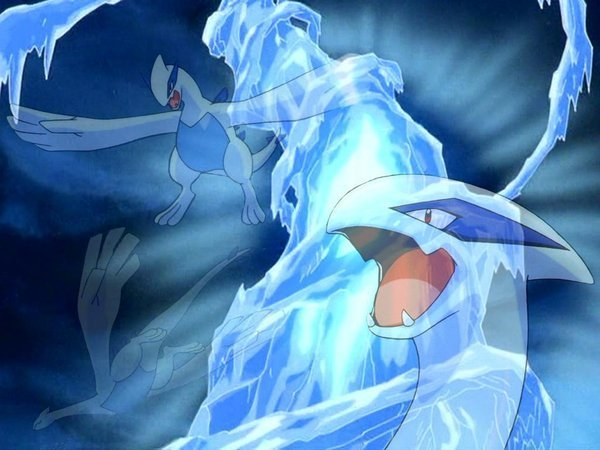 Anime Girl Wallpaper Waterfall Lugia Images Lugia Wallpaper And Background Photos 5701200