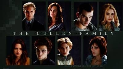 Twilight Saga Quotes Wallpaper The Cullen Family Twilight Series Fan Art 5849118 Fanpop