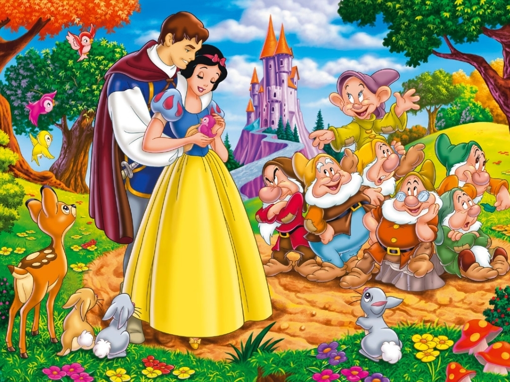 Image result for snow white and the seven dwarfs