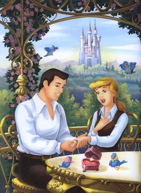 Princess Cinderella and prince Funny Cartoon