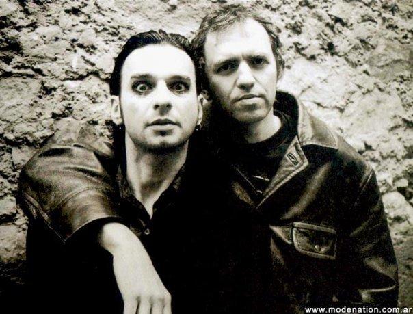 Dave Gahan und Anton Corbijn