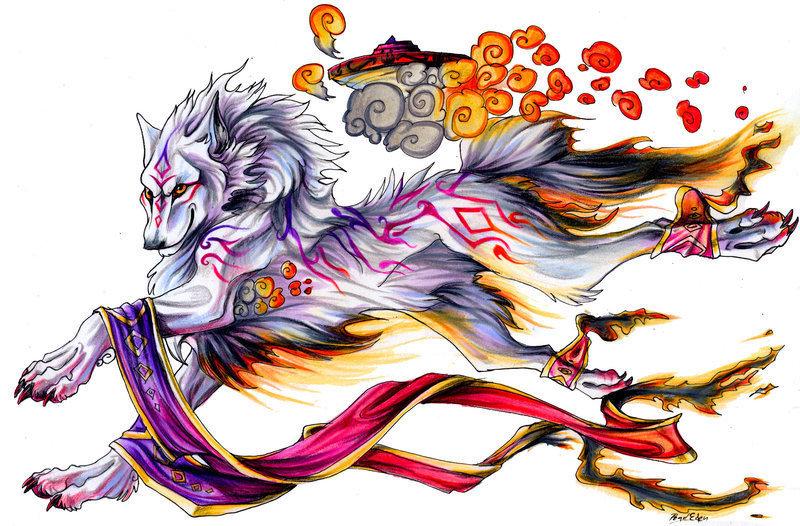 wolves anime animal fan