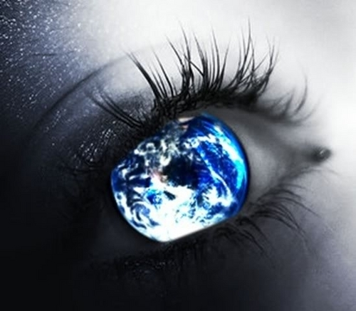 Image result for the earth eye
