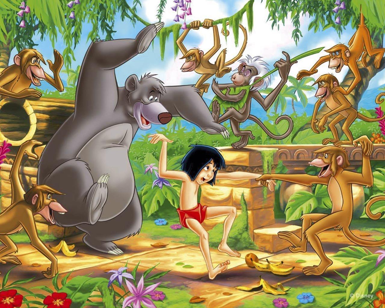 The Jungle Book Cartoons Disney