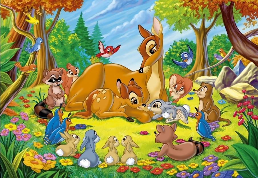 Bambi Cartoons Disney