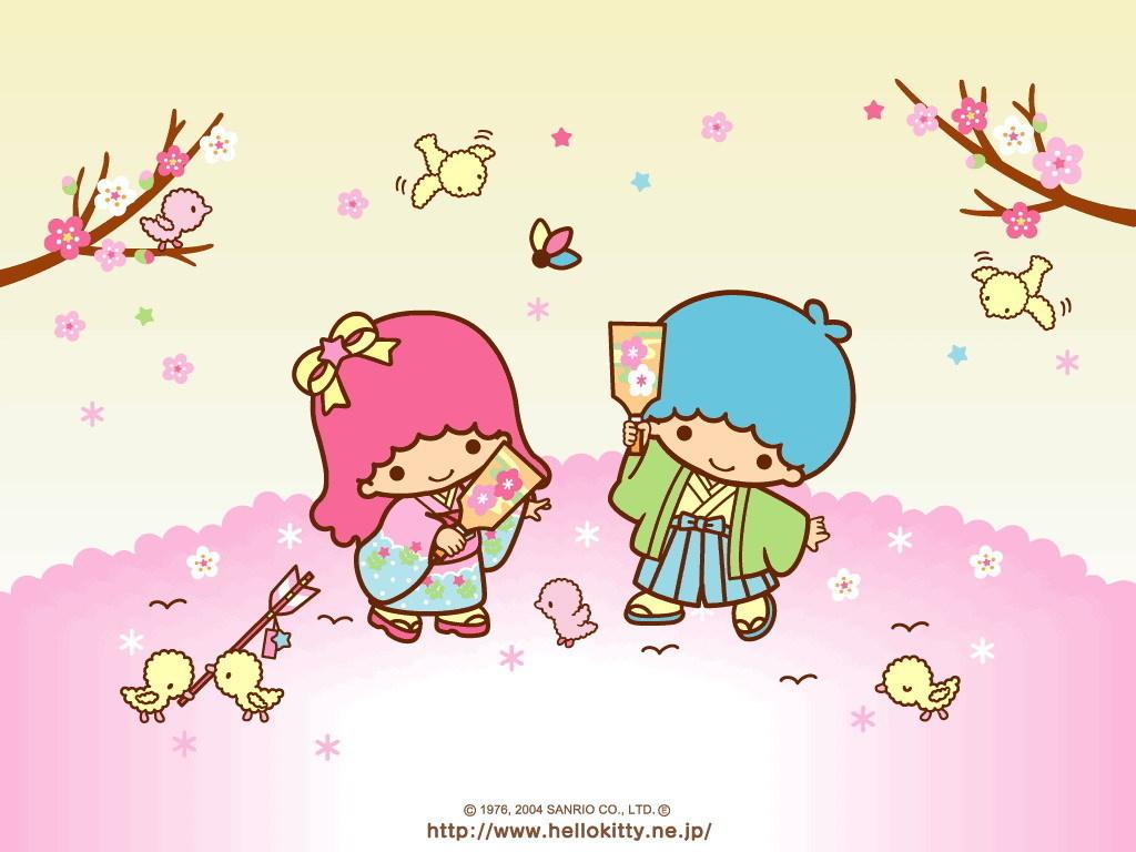 Little Twin Stars Wallpaper - Little Twin Stars Wallpaper (8256293) - Fanpop