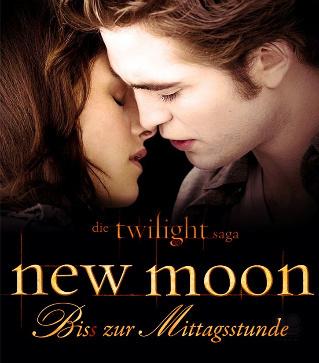 German Bella  Edward New Moon Poster  New Moon Movie Fan