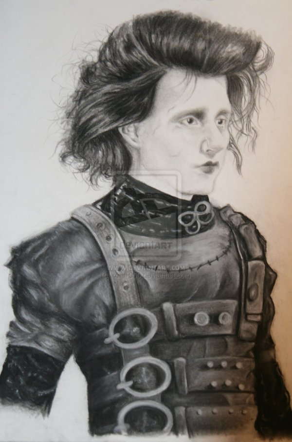 Johnny Depp Edward Scissorhands Wallpaper