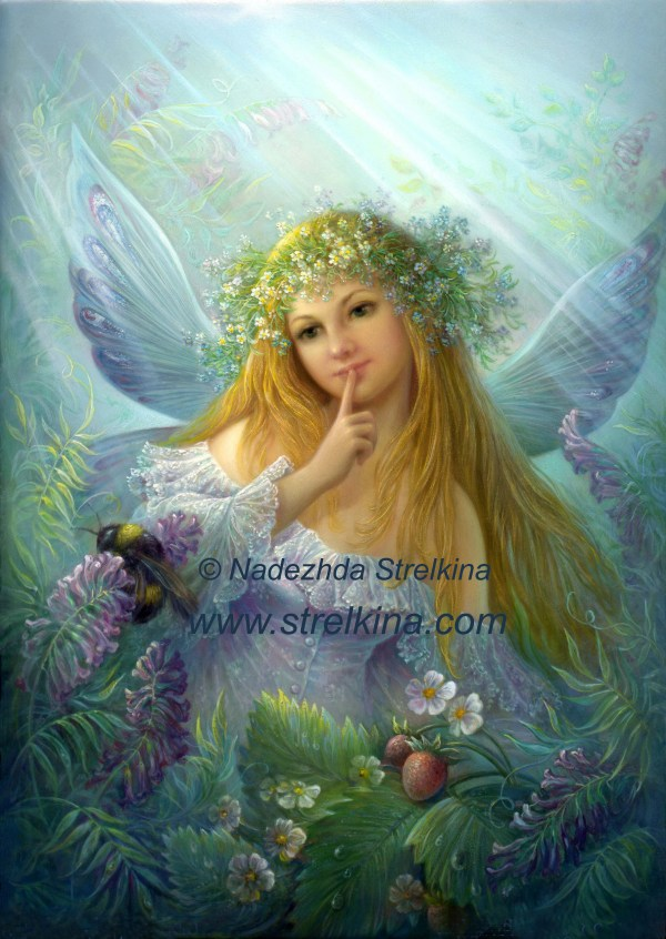 Forest Fairy - Fantasy Art 8512409 Fanpop