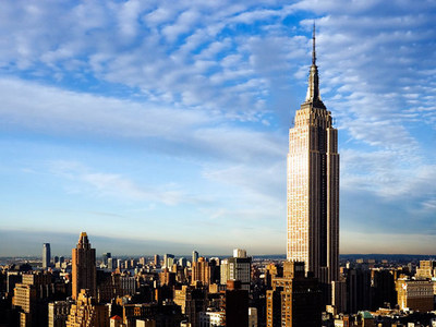 If you were to walk up all 1860 steps of the Empire State