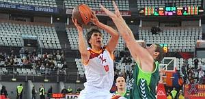Nihad Djedovic, a canestro: 23 punti contro Malaga. Ciam-Cast