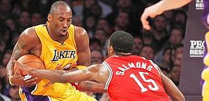 Kobe Bryant non brilla e i Lakers affondano. Ap
