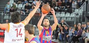 Juan Carlos Navarro, capitano del Barcellona. Ciam/Cast