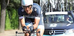 Daniele Bennati, 30 anni, ieri aveva vinto la crono. Bettini