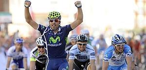 Francisco Ventoso vince così la prima tappa. Bettini