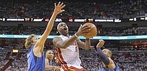 LeBron James in azione, 24 punti. Reuters