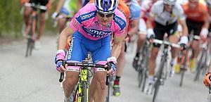 Damiano Cunego ha vinto il Giro del 2004. Bettini