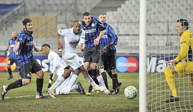 MARSIGLIA-INTER 1-0 Il gol