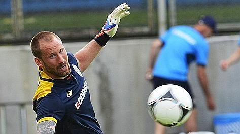 Wiland, 31 anni, 8 presenze con la Svezia. Afp