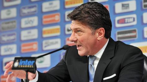 Walter Mazzarri nuovo allenatore dell'Inter