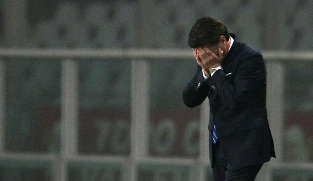 Mazzarri disperato: a Torino un'Inter per ora vergognosa