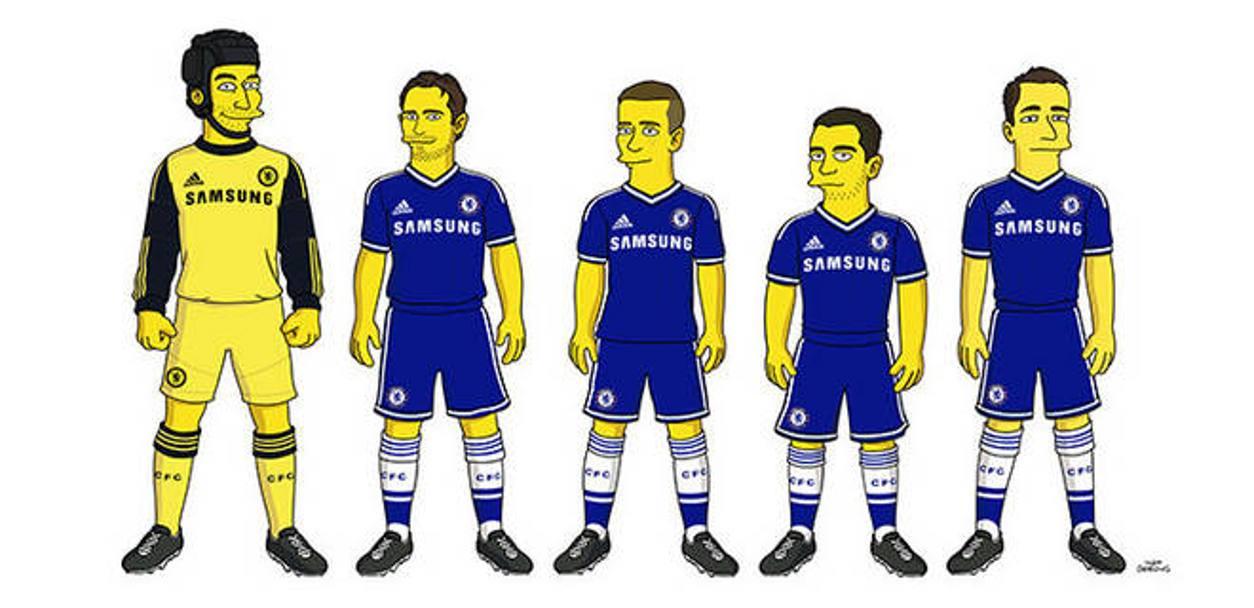 Il Chelsea a casa Simpson  La Gazzetta dello Sport