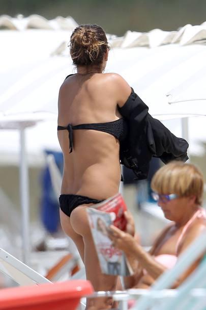 Alena Seredova si rilassa al mare  La Gazzetta dello Sport