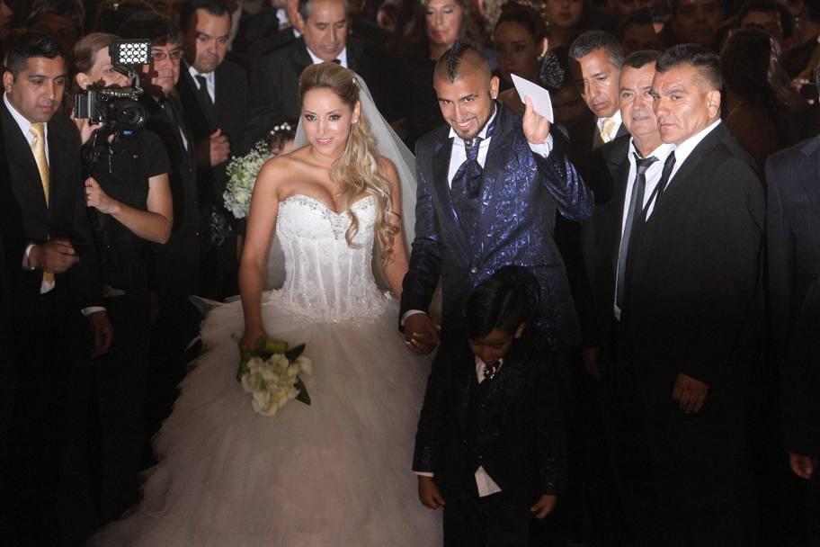 Vidal ha sposato la sua Maria Teresa  La Gazzetta dello Sport