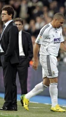 Fabio Capello e Ronaldo nel 2006. Ap