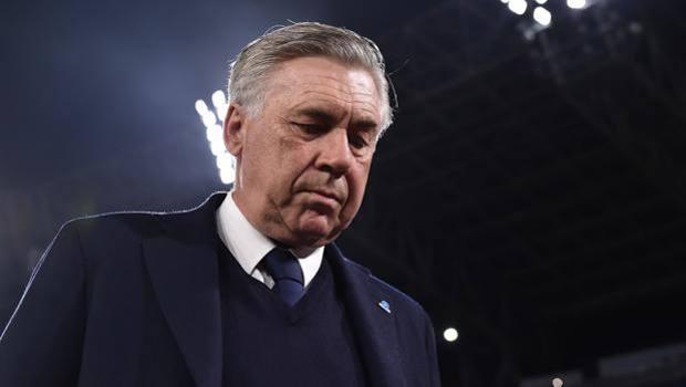 Ancelotti scuro in volto dopo Napoli-Juventus | Numerosette Magazine
