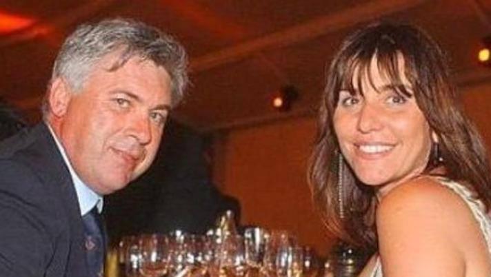 Da sinistra Carlo Ancelotti e Luisa Gibellini