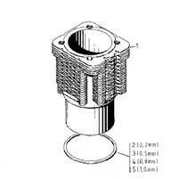 Deutz Tcd2012 Cylinder Head Gasket 04289403, Deutz Tcd2012
