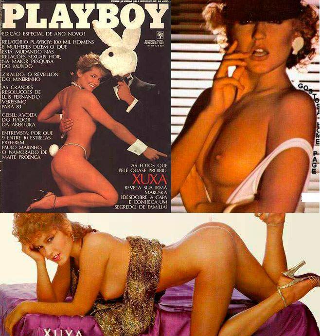 Xuxa pelada na playboy