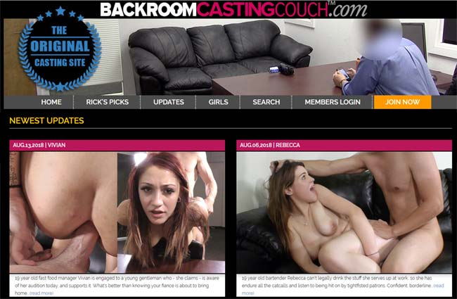 BackroomCastingCouch – Siterip – Part 1 – 40 Clips !!!