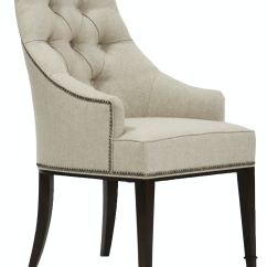 Tufted Dining Room Chairs Folding Chair Yoga Vanguard W780a Brinley Arm Interiors