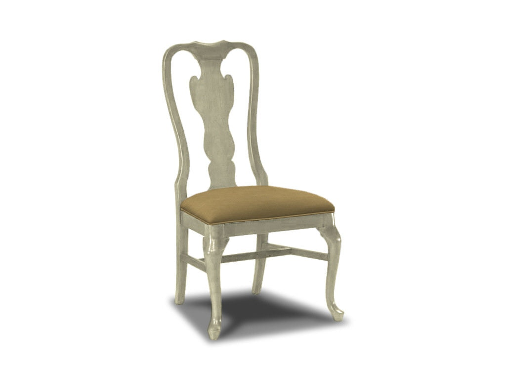 queen anne side chairs cherry donati office chair drexel heritage dining room 153 813