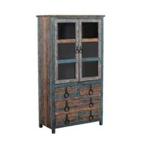 Powell Furniture Dining Room Calypso High Cabinet 114-861 ...