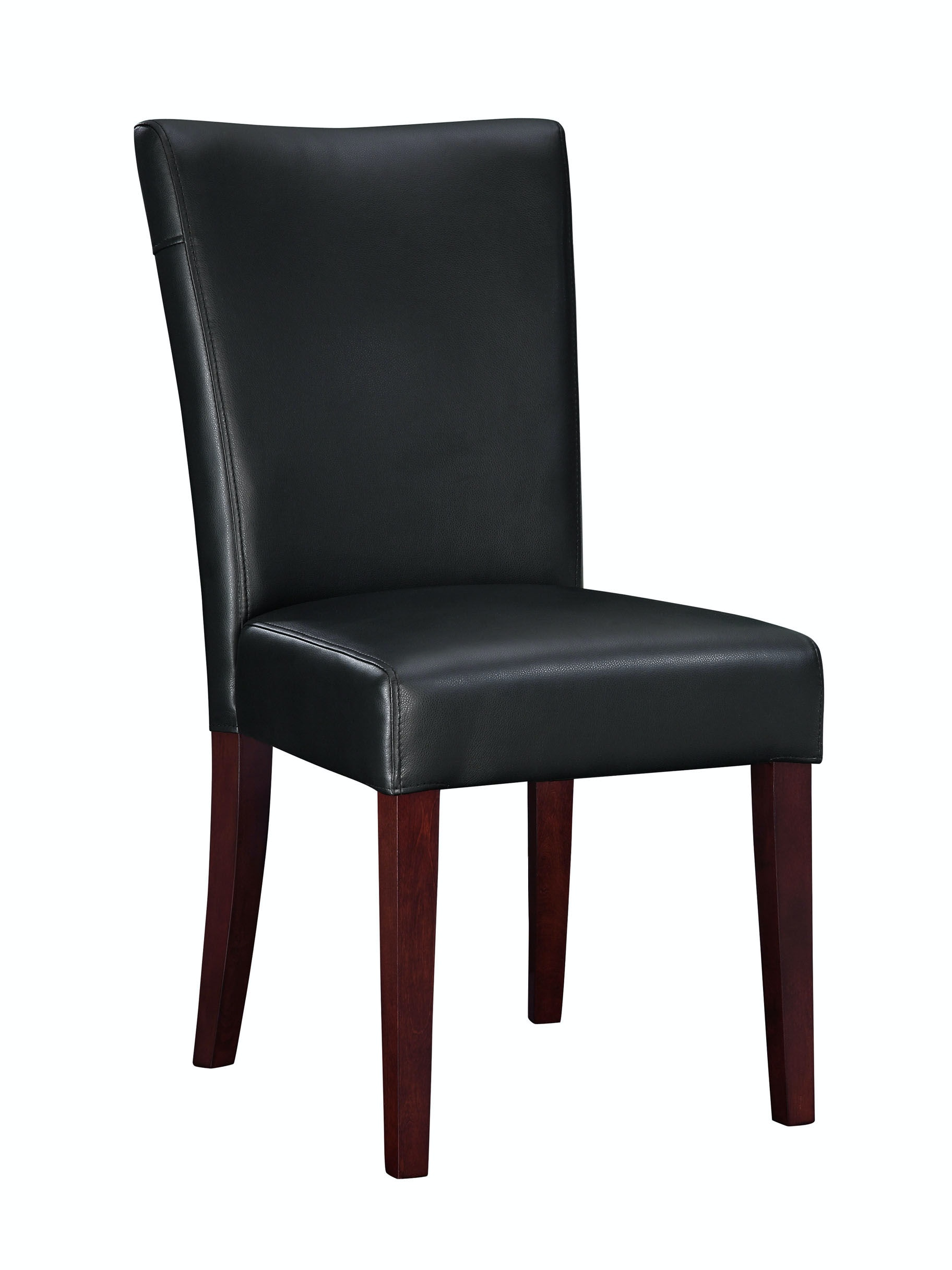 black parsons chair wheel cushion powell furniture dining room bonded leather 20 1 2 inch seat height 273 833 at butterworths of petersburg