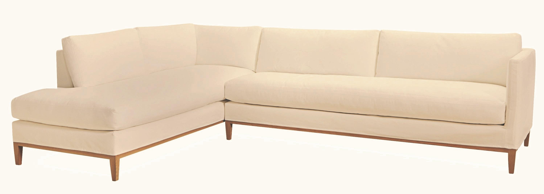 one arm sofa slipcover white corner bed uk lee industries living room slipcovered c3583 18rf
