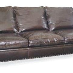 Lee Industries Leather Sofa Tan Grey Carpet Living Room L1935 03 Tin