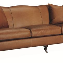 Lee Industries Leather Sofa Kilim Living Room L3278 03 R W