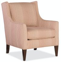 Sam Moore Domestic Living Room Hand Over Heart Club Chair