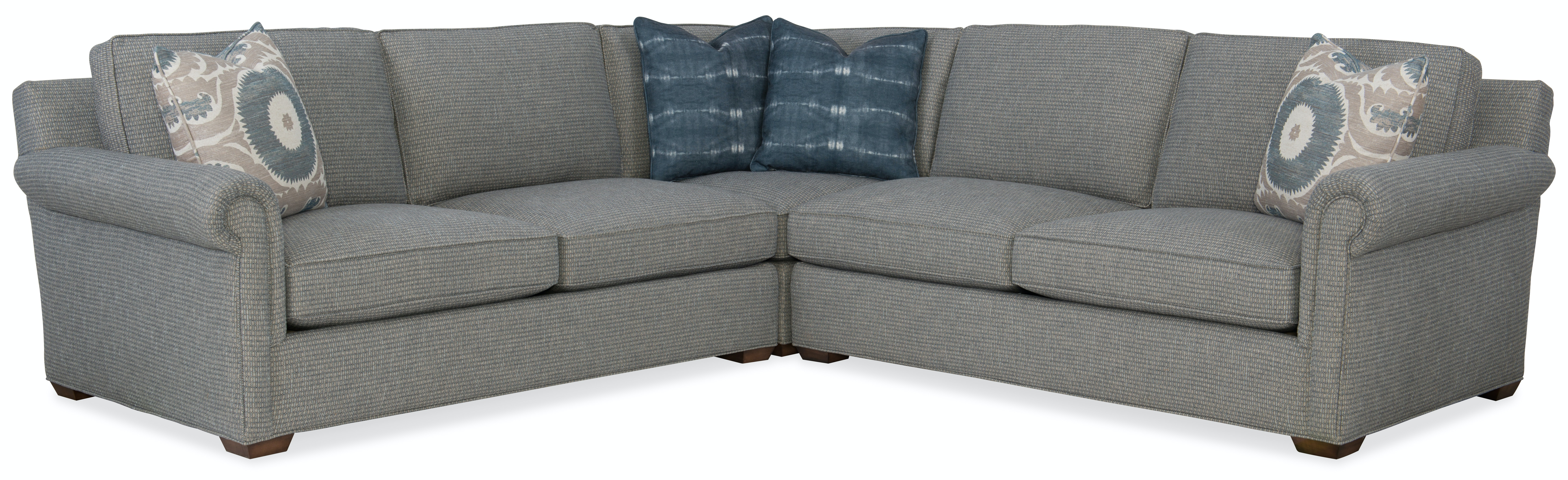 roll arm sofa canada corner sofas no credit check sam moore living room sm13 sadie sectional finesse furniture at interiors
