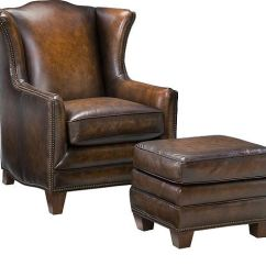 Hickory Chair Leather Couch Serta Puresoft Executive Massage King Furniture Good S Kewanee Il Athens