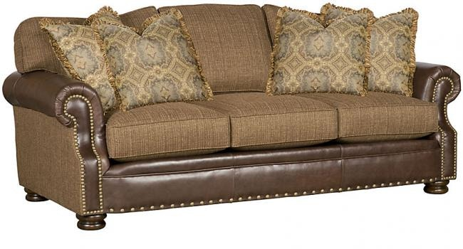 Shutterstock.com with its rich color and supple feel, l. King Hickory Living Room Easton Leather/Fabric Sofa 1600 ...