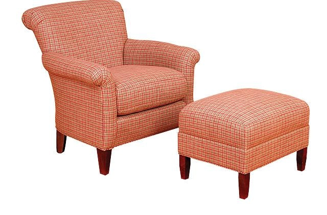 Chair King San Antonio King Hickory Living Room Francis Fabric Chair 671 Louis