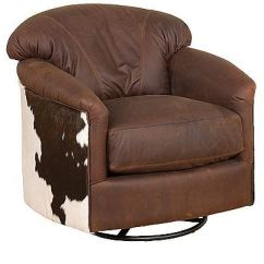 Swivel Chair King Living Reupholster Leather Office Diy Hickory Room Zeuss Glide 541 Shoh