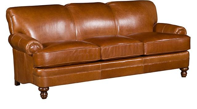 hickory chair leather couch ikea yellow king living room amanda sofa 5650 l