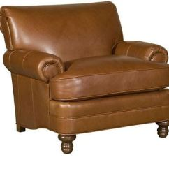 Hickory Chair Leather Couch The Best Nursing King Living Room Amanda 5651 L